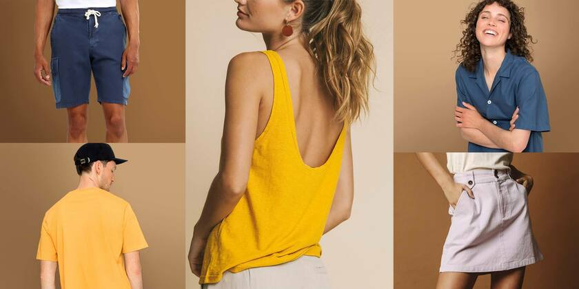 Sommer-Basics Shirts, Hosen, Röcke & mehr