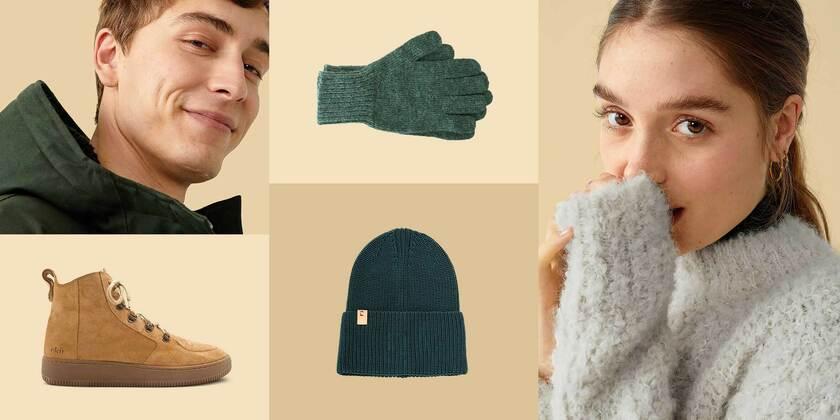 Zieh dich warm an! Strick, Jacken, Accessoires & mehr!