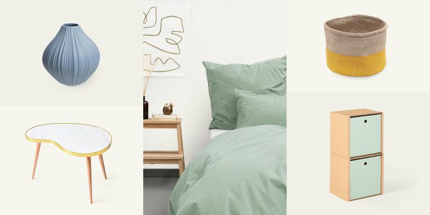 Farbtrends für dein Zuhause Nachhaltige Wohnaccessoires