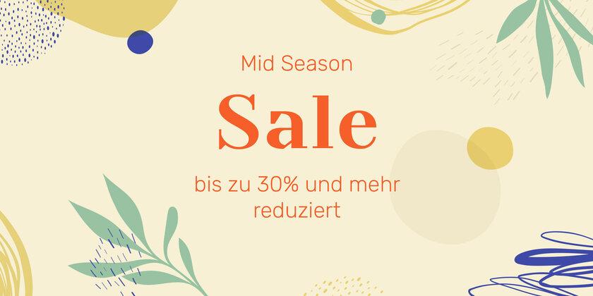 Mid Season Sale Jetzt sparen!