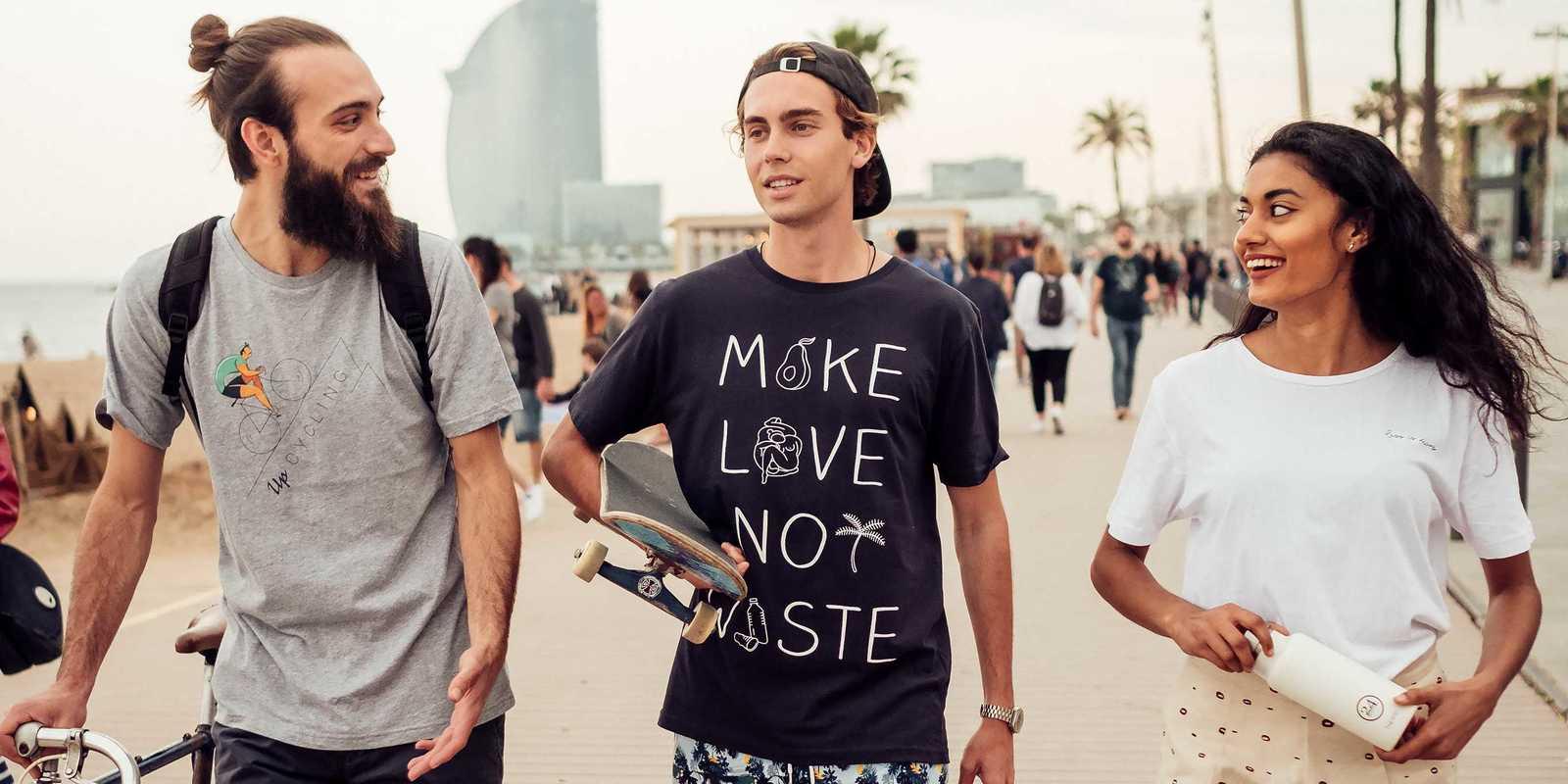 Lieblingsshirts Fair & nachhaltig hergestellt