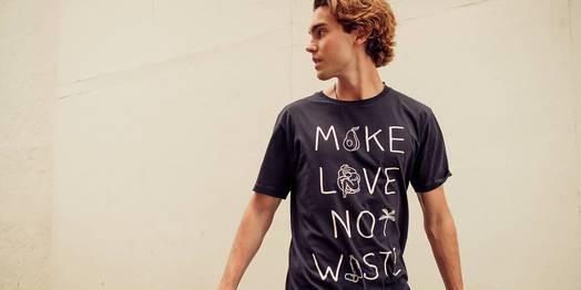Statement-Shirts Unisex-Kollektion mit KnowledgeCotton Apparel