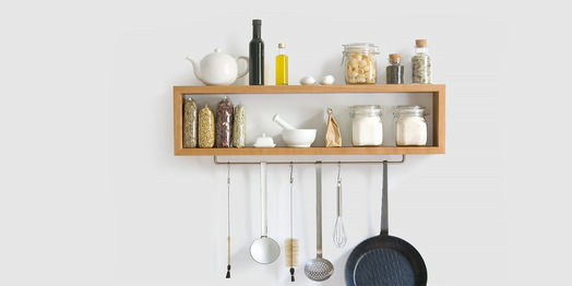 Grüne Küche Möbel, Trinkflaschen & mehr