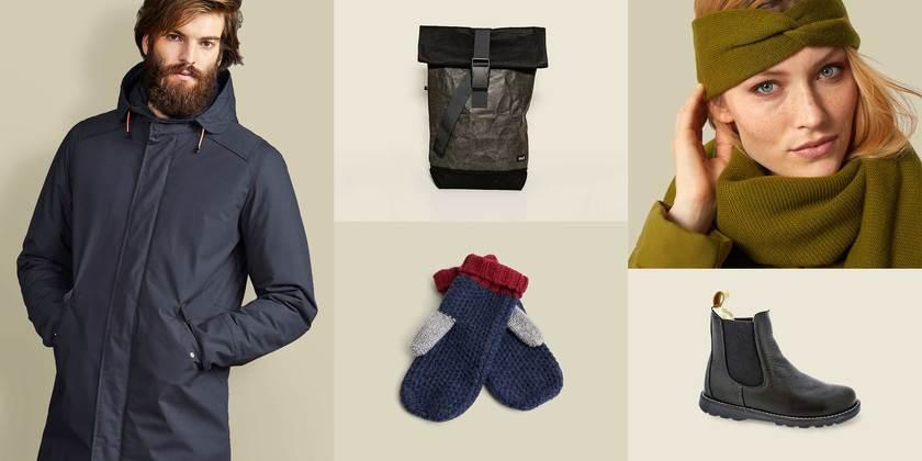 Draußen sein! Jacken, Schuhe, Mützen & Co.