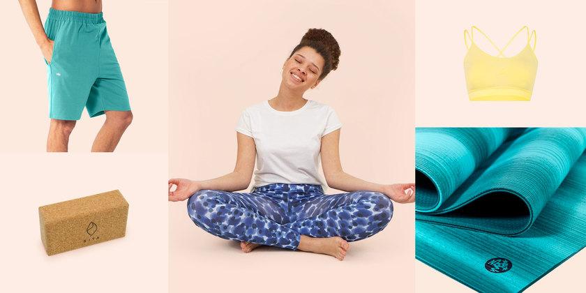 Yoga-Zeit! Leggings, Tops & Co.
