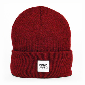 Kiruna Beanie Burgundy - DEDICATED