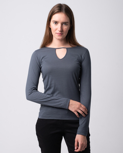 Cut Shirt - Baumwollshirt - Alma & Lovis
