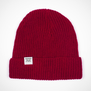 Beanie Lofoten Burgundy - DEDICATED