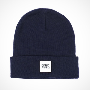 Kiruna Beanie Navy - DEDICATED