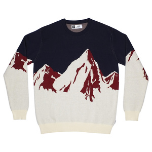 Sweater Mora Mountains / Off-White - DEDICATED