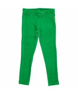 Leggings aus Kuschel-Nicki rot oder grün - maxomorra