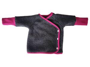 Baby Wollfleece Wickeljacke - Ulalü
