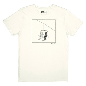 Stockholm Ski Lift T-Shirt Brian Rea - DEDICATED