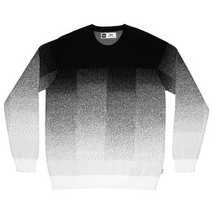 Sweater Mora Fade / Black - DEDICATED