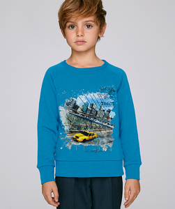 LIMITED EDITION - Sweatshirt Jungen / Manhatten - Kultgut