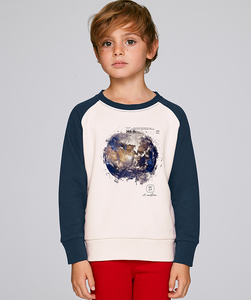 LIMITED EDITION - Bicolor Sweatshirt Jungen / Earth - Kultgut