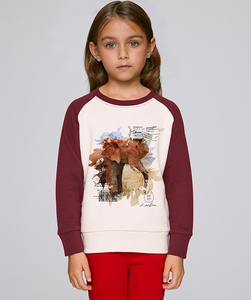 LIMITED EDITION - Bicolor Sweatshirt Mädchen/ Lucky Elephant - Kultgut