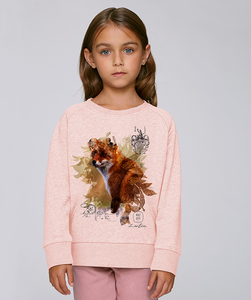 LIMITED EDITION - Sweatshirt Mädchen/ Happy Fox - Kultgut