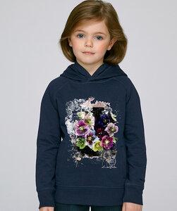 LIMITED EDITION- Hoodie Mädchen/ Fleur d'Automne - Kultgut