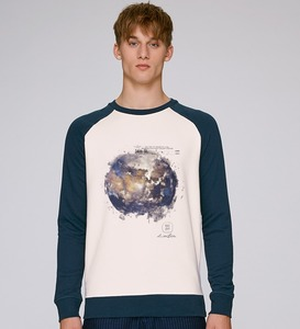 LIMITED EDITION- Bicolor Sweatshirt Herren/ Earth - Kultgut