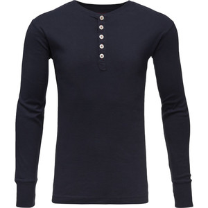 Rib Knit Henley - Knowlege Cotton Apparel