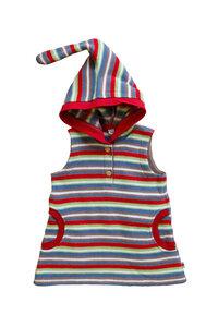 Baby Kinder Tunika Kapuzenkleid Bio-Baumwolle Oberteil Frotee - Leela Cotton