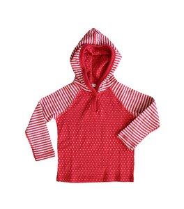 Wende Langarmshirt Bio-Baumwolle Oberteil T-Shirt Kapuzenshirt - Leela Cotton