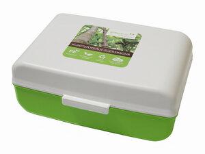 Lunchbox aus Biokunststoff mit Unterteilung - greenline