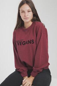 Sweatshirt - Viva Las Vegans Flock Sweatshirt - thinking mu