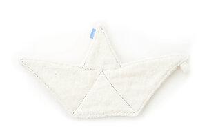 Waschlappen Papierboot ecru - Holy Water