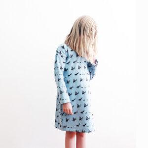 Kinder Nachthemd Bremer Stadtmusikanten petrol oder grau - betus