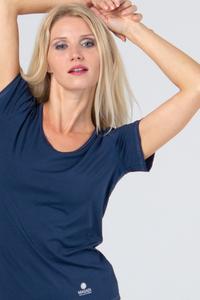 Weiches T-Shirt,  Denim Blau - Magadi