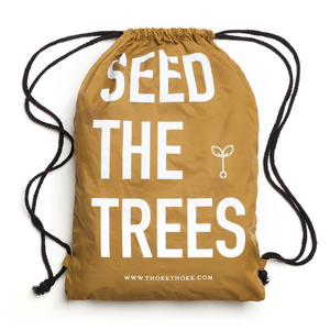 Turnbeutel Brass // Seed The Trees // Recycled & Fair - ThokkThokk