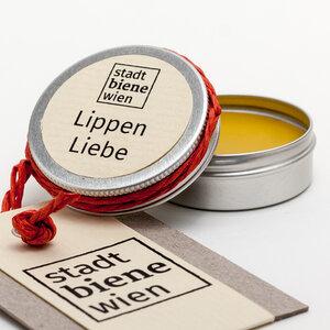 Bio-Lippenpflege mit Propolis im Tiegel - Stadtbiene Wien