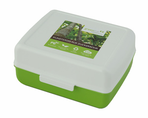 Mittlere vegane Vorratsbox mit Verschluss - greenline