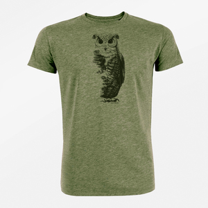 T-Shirt Guide Animal Owl - GreenBomb