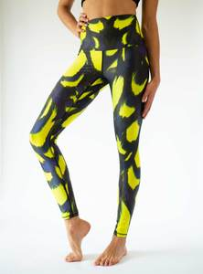 Yoga Leggings FLYING TIGER - Arctic Flamingo