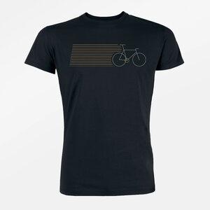 T-Shirt Guide Bike Stripes - GreenBomb