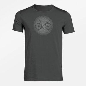 T-Shirt Adores Slub Bike Circle - GreenBomb