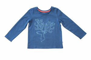 Roberta Rentier Langarm-Shirt - Cooee Kids