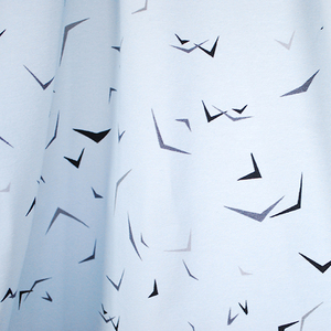 "Bio-Jersey ""bird swarm"" Bio-Baumwolle - Biostoffe Berlin by Julie Cocon"