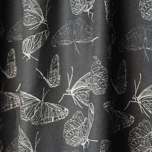 """Baumwoll-Stoff """"Butterfly Black"""" Reststück - Biostoffe Berlin by Julie Cocon"""