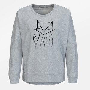 Sweatshirt Slack Animal Fox - GreenBomb