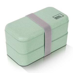 Nachhaltige Lunchbox von avoid waste mit Besteck im Bento-Box Stil - avoid waste