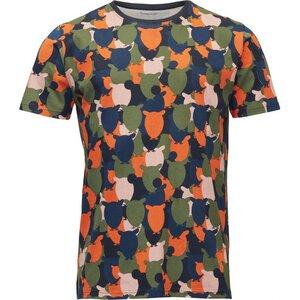 T-Shirt with Owl Print GOTS Pale Mauve - KnowledgeCotton Apparel