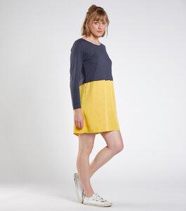 """Kleid """"Anokha"""" blau/gelb - [eyd] humanitarian clothing"""