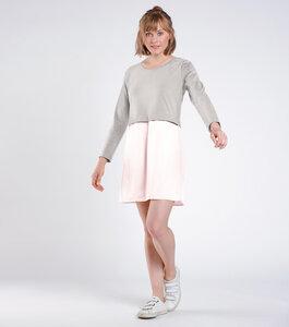 Kleid ANOKHA grau/rosa - [eyd] humanitarian clothing