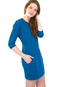 Tess Womans Sweat Dress 3/4 sleeve - SHIRTS FOR LIFE