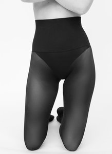 40den Schwarz - Strumpfhose - Hanna Premium Seamless Tights - Swedish Stockings