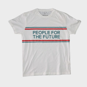 T-Shirt - People for the Future Tee - thinking mu